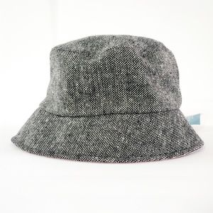 Nine West // Flexible Gray Lined Fedora Hat